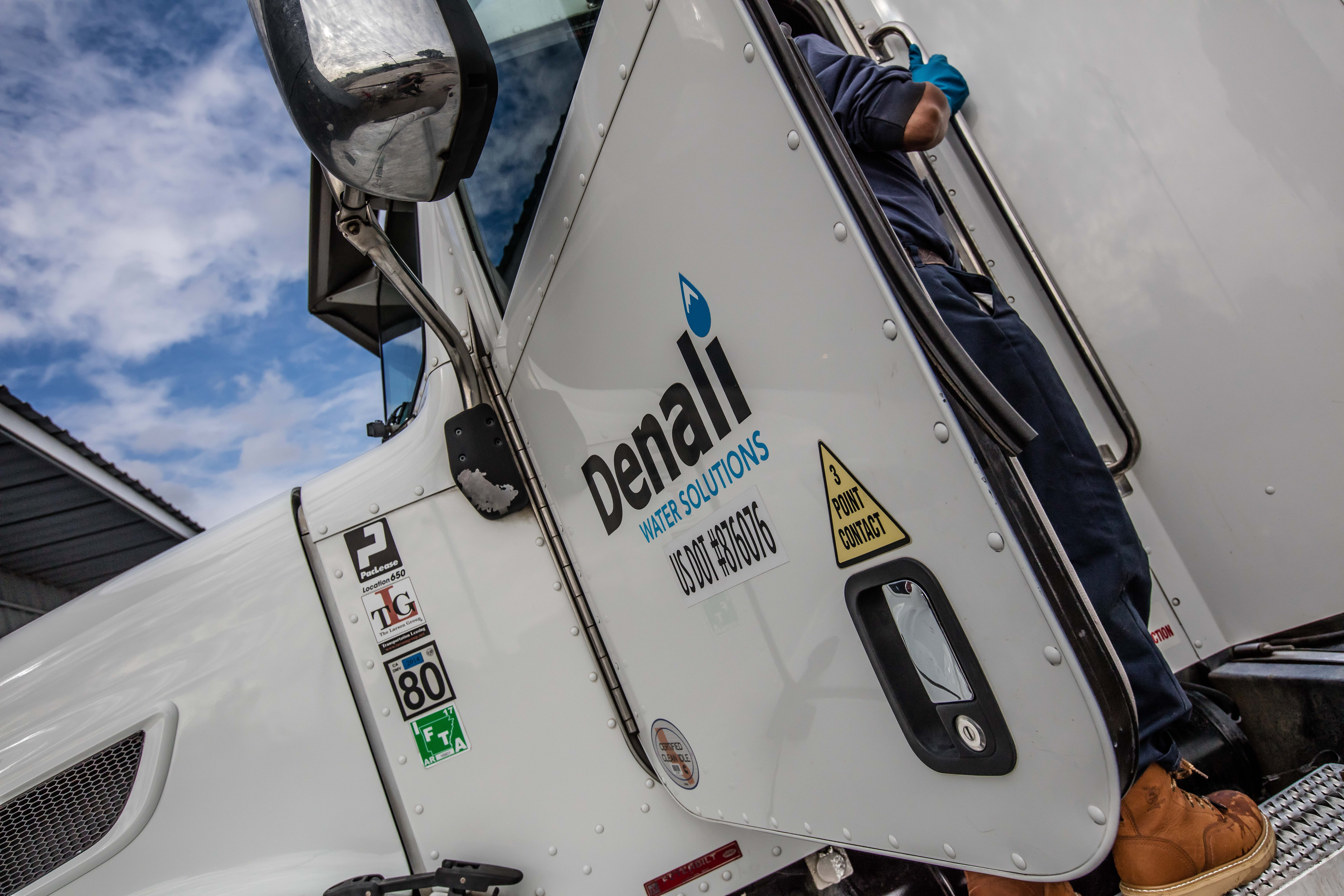 Driving the Future of Waste Conversion, a Denali truck